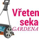 Vřetenová sekačka na trávník Gardena 400 C