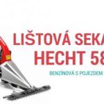 Lištová benzínová sekačka s pojezdem Hecht 587