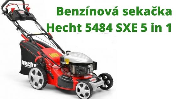 Benzínová sekačka Hecht 5484 SXE 5 in 1